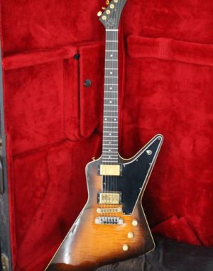 Gibson Explorer II E2 Sunburst Flame Top 1982